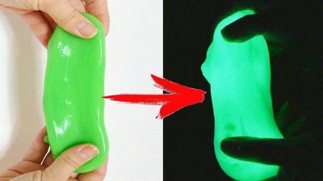 Классический вариант светящегося лизуна