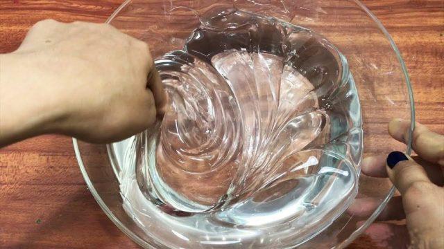 Приготовление прозрачного лизуна